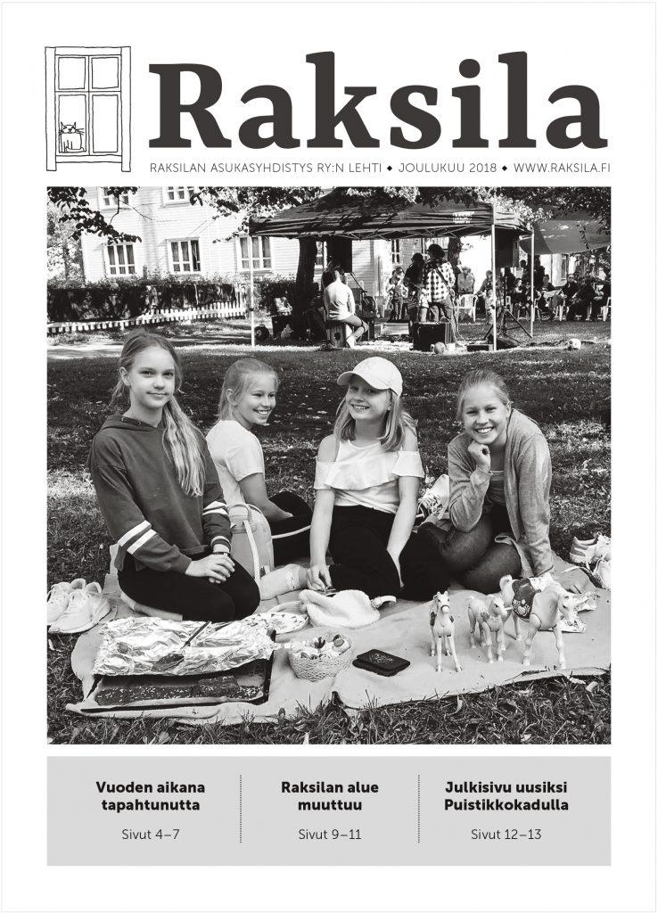 Raksila-lehti 2018 kansi