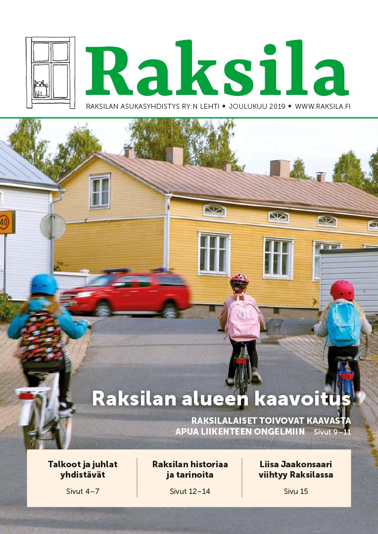 Raksila-lehti 2019 kansi