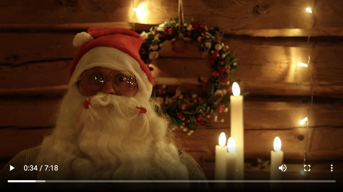 Joulutervehdys Raksilasta 2020 -video